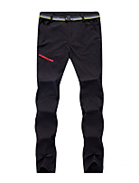 cheap -Men's Hiking Pants Trousers Solid Color Summer Outdoor Lightweight Windproof Breathable Quick Dry Bottoms Black Army Green Grey Khaki Hunting Fishing Climbing S M L XL XXL / Wear Resistance