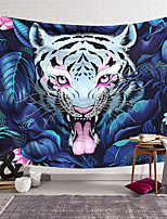 cheap -Wall Tapestry Art Decor Blanket Curtain Hanging Home Bedroom Living Room Decoration Polyester Color Tiger
