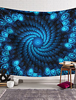 cheap -Wall Tapestry Art Decor Blanket Curtain Hanging Home Bedroom Living Room Decoration Polyester Blue Space Black Hole