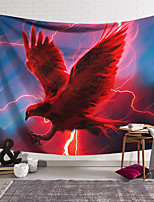 cheap -Wall Tapestry Art Decor Blanket Curtain Hanging Home Bedroom Living Room Decoration Polyester Red Eagle