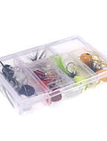 cheap -10 pcs Lure kit Fishing Lures Jig Head Floating Bass Trout Pike Fly Fishing Freshwater Fishing Other