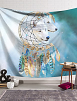 cheap -Wall Tapestry Art Decor Blanket Curtain Hanging Home Bedroom Living Room Decoration Polyester Wolf Star Dream Catcher