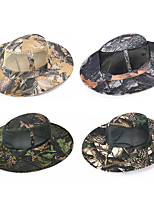 cheap -Men's Portable Ultraviolet Resistant Breathability Comfortable Camo Spring & Summer Terylene Hunting Fishing Military / Tactical Camping / Hiking / Caving Camouflage Color Jungle camouflage