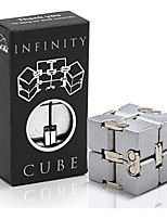 cheap -Speed Cube Set 1 pcs Magic Cube IQ Cube Infinity Cubes Magic Cube Sensory Fidget Toy Puzzle Cube Stress and Anxiety Relief Office Desk Toys Decompression Toys Kid's Adults' Toy Gift
