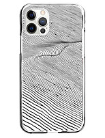 cheap -Lines / Waves Case For Apple iPhone 12 iPhone 11 iPhone 12 Pro Max Unique Design Protective Case Shockproof Pattern Back Cover TPU