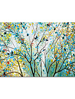 cheap -Hand Painted Abstract Landscape Canvas Oil Paintings Modern Art Abstract Stretched Abstract Artwork Ready to Hang