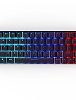 cheap -WAZA K68 Wireless Bluetooth 2.4Ghz USB  Wired Triple Mode Mechanical Keyboard Outemu Switches Gaming Mechanical Programmable RGB Backlit 68 pcs Keys