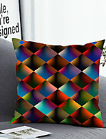 cheap -1 PC 3D Cushion Cover with or without Pillow Insert Double Side Print 38x38cm / 45x45cm Polyester