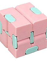 cheap -Speed Cube Set 1 pcs Magic Cube IQ Cube Infinity Cubes Magic Cube Sensory Fidget Toy Puzzle Cube Stress and Anxiety Relief Office Desk Toys Decompression Toys Macaron Kid's Adults' Toy Gift