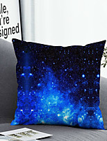 cheap -Cushion Cover with or without Pillow Insert Double Side Print 38x38cm / 45x45cm Polyester Starry Night