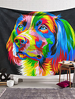 cheap -Wall Tapestry Art Decor Blanket Curtain Hanging Home Bedroom Living Room Decoration Polyester Color Dog