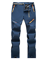 cheap -Men's Hiking Pants Trousers Solid Color Outdoor Windproof Breathable Quick Dry Wear Resistance Bottoms Black Army Green Grey Dark Blue Hunting Fishing Climbing S M L XL XXL / Zipper Pocket