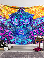 cheap -Wall Tapestry Art Decor Blanket Curtain Hanging Home Bedroom Living Room Decoration Polyester Color Owl