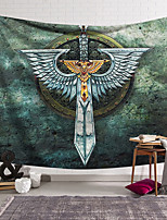 cheap -Wall Tapestry Art Decor Blanket Curtain Hanging Home Bedroom Living Room Decoration Polyester Sword Wings