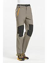 cheap -Men's Hiking Pants Trousers Patchwork Outdoor Waterproof Breathable Quick Dry Stretchy Nylon Elastane Bottoms Black Army Green Khaki Hunting Fishing Climbing M L XL XXL XXXL