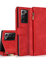 cheap -Wallet Leather Case For Samsung Galaxy S21 Plus S21 Ultra Multifunctional Full Body Protective Cover Coque For Samsung Galaxy Note 20 Ultra S20 S10 Plus Note 10 Plus