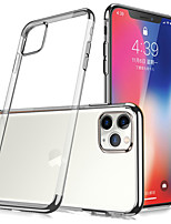 cheap -Simplicity Clear Case For Apple iPhone 12 12mini 12Pro max 11 11Pro  11Pro max SE X XS XR XSMAX Shockproof Back Cover TPU