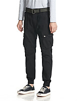 cheap -Men's Hiking Pants Trousers Hiking Cargo Pants Solid Color Winter Outdoor Breathable Thick Anti-tear Multi-Pockets Cotton Bottoms Black Army Green Khaki Dark Blue Hunting Fishing Climbing 28 30 36 38