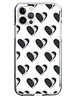 cheap -Cartoon Love Case For Apple iPhone 12 iPhone 11 iPhone 12 Pro Max Unique Design Protective Case Pattern Back Cover TPU