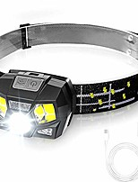 cheap -led headlamp headlamp, usb rechargeable mini headlamps waterproof headlamp lightweight perfect for running, jogging, fishing, camping, for children and more