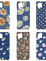 cheap -Phone Case For Samsung Back Cover Galaxy A91 / M80S A51 A7 A10 A40 A90 A70 Galaxy A20e A20 A30 Shockproof Dustproof Flower Oxford Cloth PC