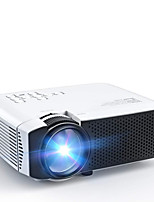 cheap -Projector Mini Video Projector 1080P Full HD Supported Display HDMI USB VGA AV Micro SD Dual Speakers 50000 Hours Home Projector