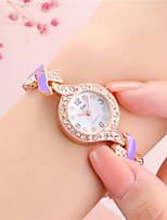 cheap -Women's Bracelet Watch Analog - Digital Quartz Glitter Tennis Chain Sparkle Creative