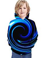 cheap -Kids Boys' Hoodie & Sweatshirt Graphic 3D Print Long Sleeve Active Blue