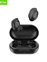 cheap -QCY T9S Wireless Earbuds TWS Headphones Bluetooth5.0 with Charging Box Waterproof IPX4 Auto Pairing Pop Up Window for Mobile Phone