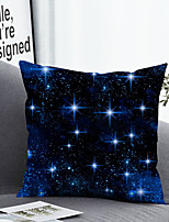 cheap -1 Pc Cushion Cover with or without Pillow Insert Double Side Print Shinning Stars 38x38cm / 45x45cm Polyester