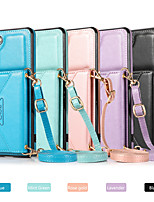 cheap -Case For Samsung Galaxy S21 / Galaxy S21 Plus / Galaxy S21 Ultra Shockproof / Dustproof / Magnetic Back Cover Solid Colored PU Leather / TPU