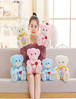 cheap -Stuffed Animals Cute Plush Toys Glowing Heart Hugging Bear Christmas Gift