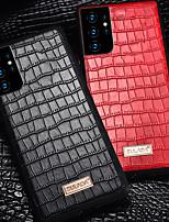 cheap -Crocodile skin Case For Samsung S21 S21Plus S21Ultra S20 S20Plus S20Ultra S10 S10E S10Plus S9Plus S9 Shockproof Solid Colored Back Cover TPU PC Case for Samsung Note20 20plus 10 10plus 10lite