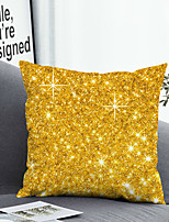 cheap -1 Pc Cushion Cover with or without Pillow Insert Double Side Print Golden Shine 38x38cm / 45x45cm Polyester