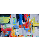 cheap -Oil Painting Handmade Abstract Painting Hand Painted Wall Art Home Decoration Decor Stretched Frame Ready to Hang