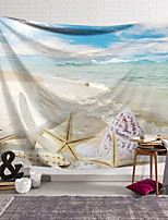 cheap -Wall Tapestry Art Decor Blanket Curtain Hanging Home Bedroom Living Room Decoration Polyester Starfish