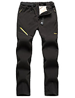 cheap -men's lined winter trousers waterproof + windproof + breathable + warm thickened softshell trousers mountain trousers functional trousers trekking trousers hiking trousers men's outdoor trousers