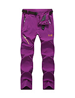 cheap -Women's Hiking Pants Trousers Patchwork Outdoor Lightweight Windproof Breathable Quick Dry Bottoms Black Purple Green Rose Red Hunting Fishing Climbing L XL XXL XXXL 4XL