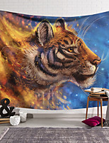 cheap -Wall Tapestry Art Decor Blanket Curtain Hanging Home Bedroom Living Room Decoration Polyester Tiger