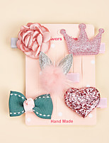 cheap -Dog Cat Ornaments Hair Accessories Hair Bow Bowknot Tiaras & Crowns Prince Cute Sweet Wedding Party Valentine's Day Dog Clothes Puppy Clothes Dog Outfits Adjustable Pink Costume for Girl and Boy Dog