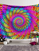 cheap -Wall Tapestry Art Decor Blanket Curtain Hanging Home Bedroom Living Room Decoration Polyester Fantasy Spiral