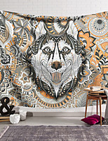 cheap -Wall Tapestry Art Decor Blanket Curtain Hanging Home Bedroom Living Room Decoration Polyester Color Wolf