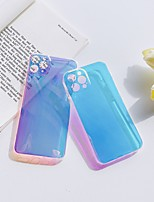 cheap -Jelly Feeling Case For Apple iPhone 12 / iPhone 11 / iPhone 12 Pro Max Shockproof Back Cover Camouflage TPU
