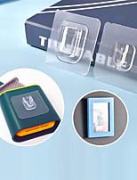 cheap -Hooks Self-adhesive / Multifunction / Reusable Modern Contemporary Plastic 10pcs / 9pcs Toilet Accessories / Bath Organization