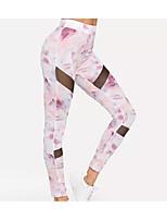 cheap -Women's Sports Leggings Sweatpants Pants Animal Full Length Blushing Pink