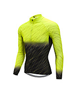 cheap -Men's Long Sleeve Downhill Jersey Black Yellow Red Bike Jersey Sports Clothing Apparel