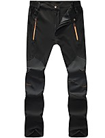 cheap -Men's Hiking Pants Trousers Patchwork Outdoor Lightweight Windproof Breathable Quick Dry Bottoms Black Grey Dark Green Hunting Fishing Climbing S M L XL XXL