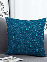 cheap -1 Pc Cushion Cover with or without Pillow Insert Double Side Print Raindrop 38x38cm / 45x45cm Polyester