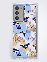 cheap -Butterfly Case For Samsung Galaxy S21 Galaxy S21 Plus Galaxy S21 Ultra Unique Design Protective Case Shockproof Pattern Back Cover TPU