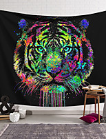 cheap -Wall Tapestry Art Decor Blanket Curtain Hanging Home Bedroom Living Room Decoration Polyester Tiger Fierce